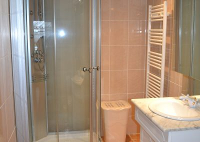 Gîte du Métayer - douche in de badkamer
