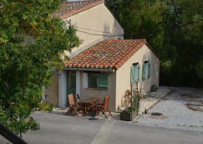 Gîte La Boulbène – het terras