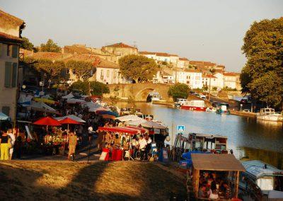 Markt in Castelnaudary