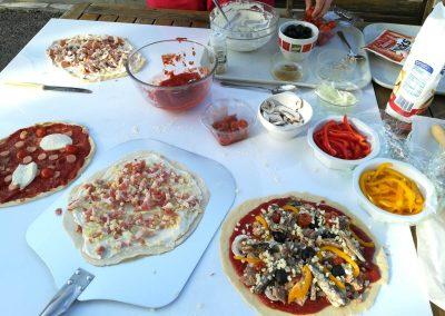 Soirée pizza au Domaine Las Brugues