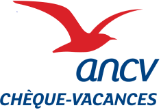 Logo ANCV Chèques Vacances acceptés