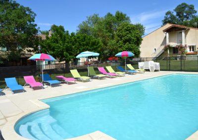 Domaine Las Brugues, profitez de la piscine