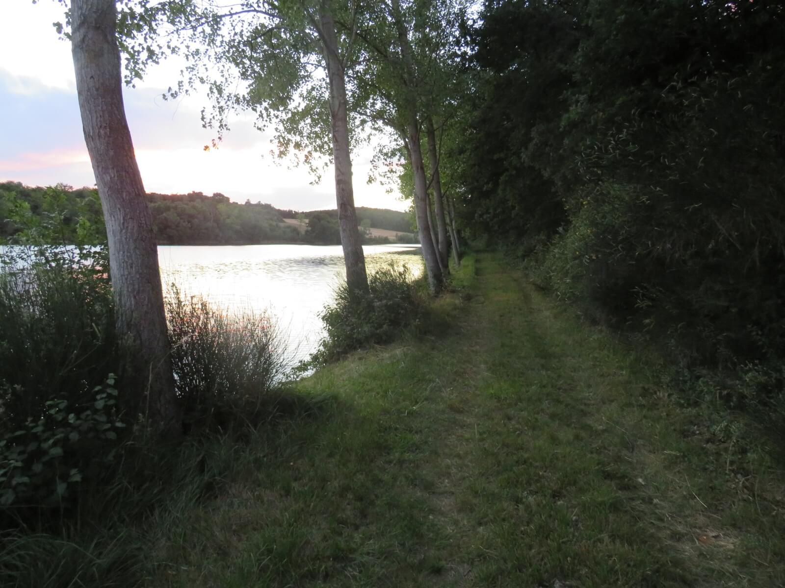 Lac de Rousillac